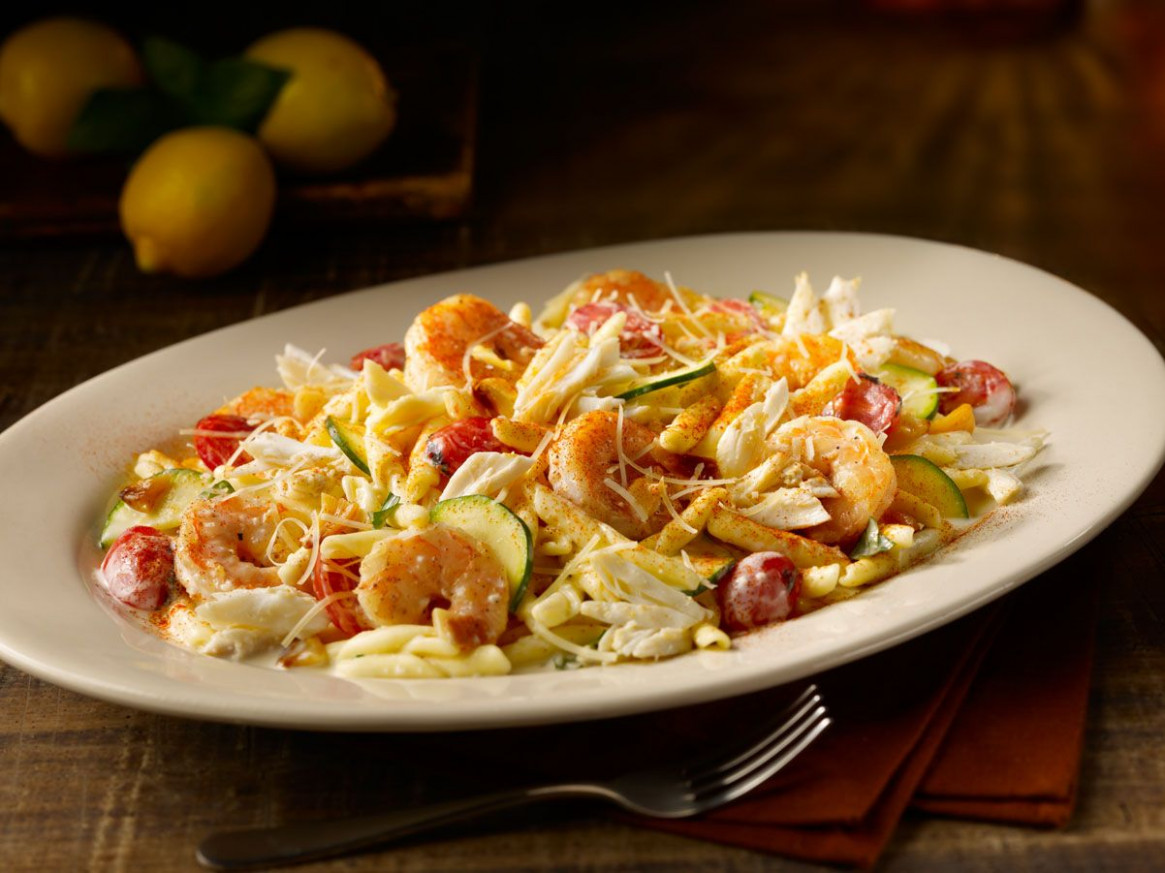 Crab & Shrimp Tropheo - Hand-Twisted Pasta, Jumbo Lump ...