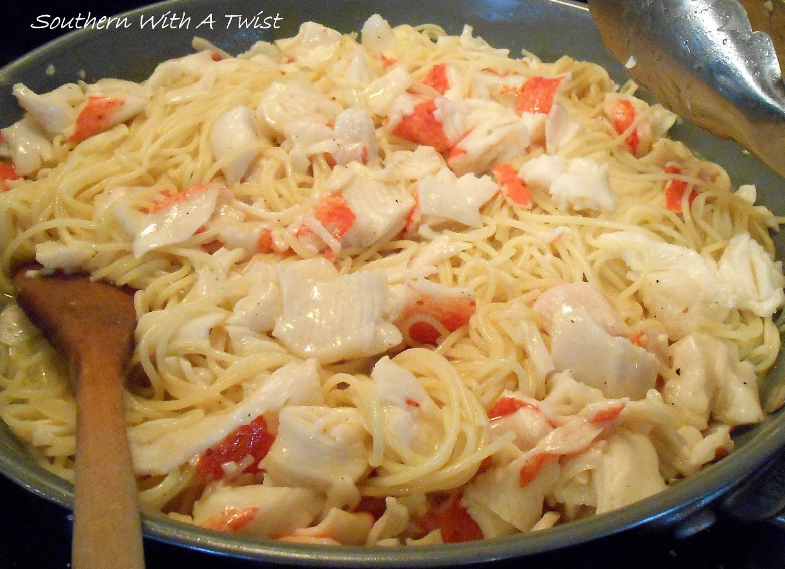 Crab Pasta Recipe — Dishmaps