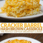 Cracker Barrel Hash Brown Casserole (Copycat) – Dinner, Then …