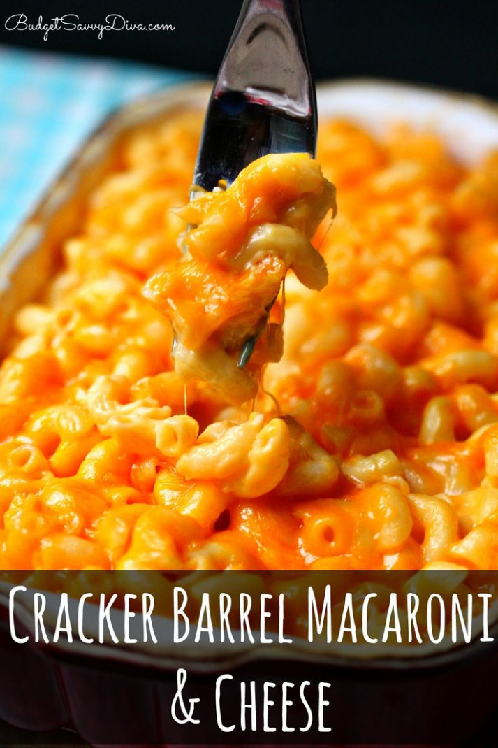 Cracker Barrel Macaroni and Cheese | Recipe | Cyber Monday ...