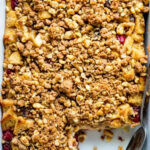 Cranberry Apple Christmas Breakfast Casserole – Healthy …