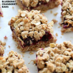 Cranberry Blueberry Crumb Bars - Vegan Richa
