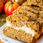 Cream Cheese Pumpkin Bread – Homemade Hooplah