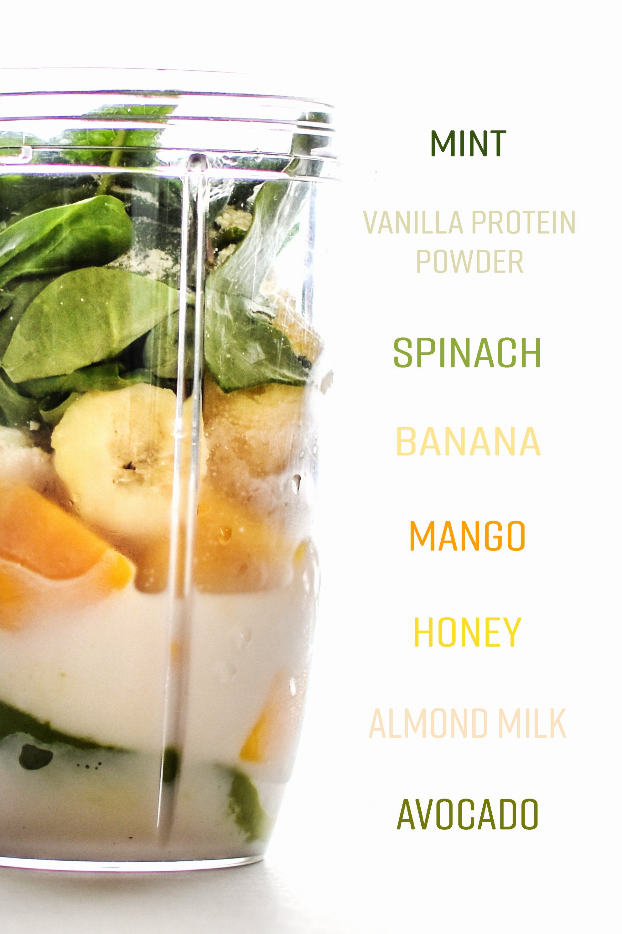 Creamy Avocado Mint Green Smoothie Recipe – Project Meal Plan