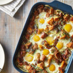Creamy Brioche And Egg Bake Recipe | MyRecipes