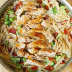 Creamy Broccoli, Chicken, and Bacon Pasta | Recipe ...