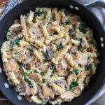 Creamy Chicken And Mushroom Pasta – Cookin' With Mima