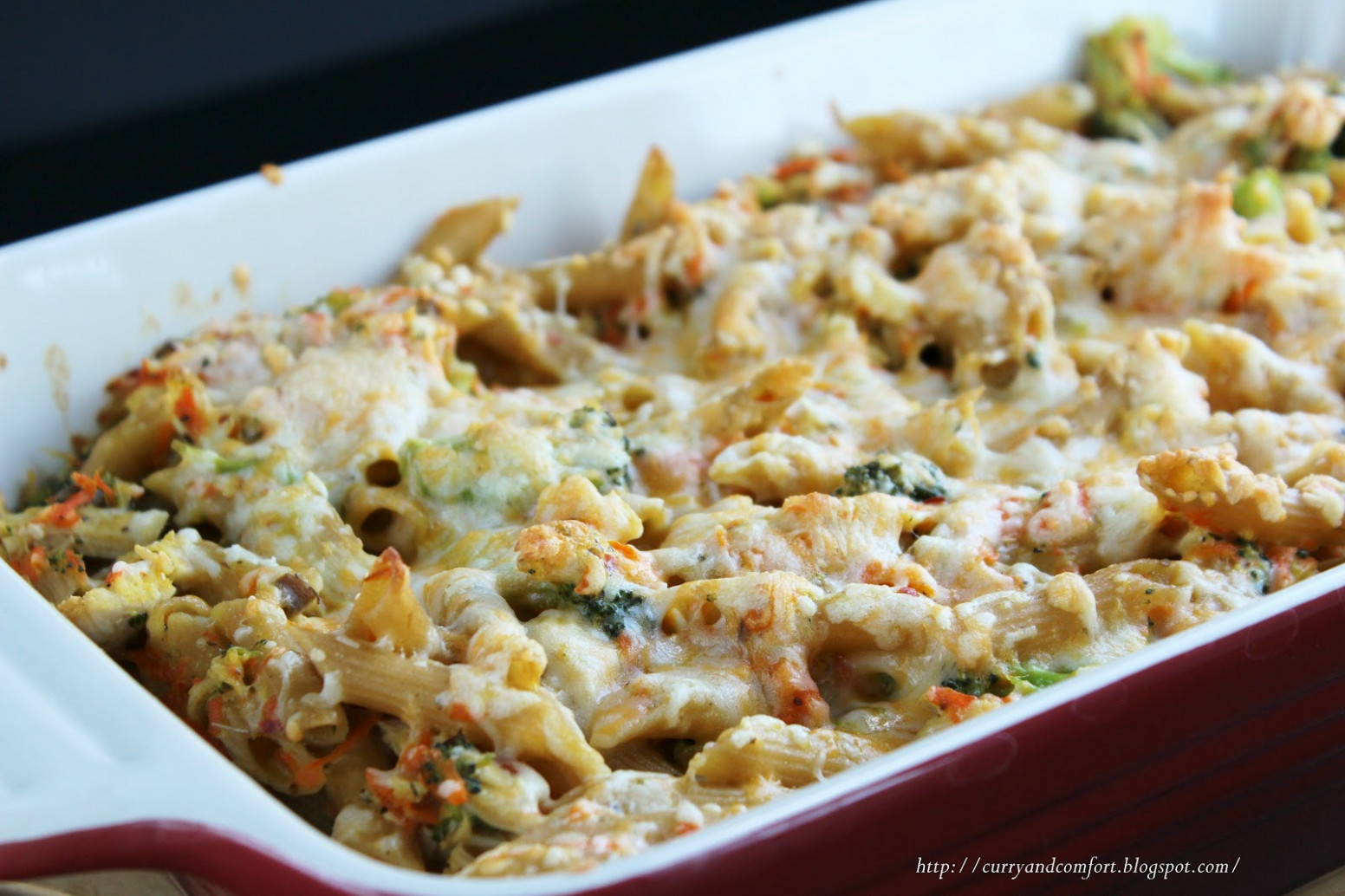 Creamy Chicken Spaghetti Casserole Recipe — Dishmaps