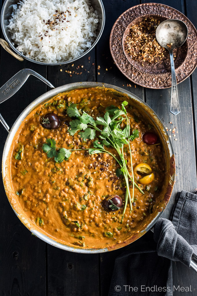 Creamy Coconut Lentil Curry | The Endless Meal