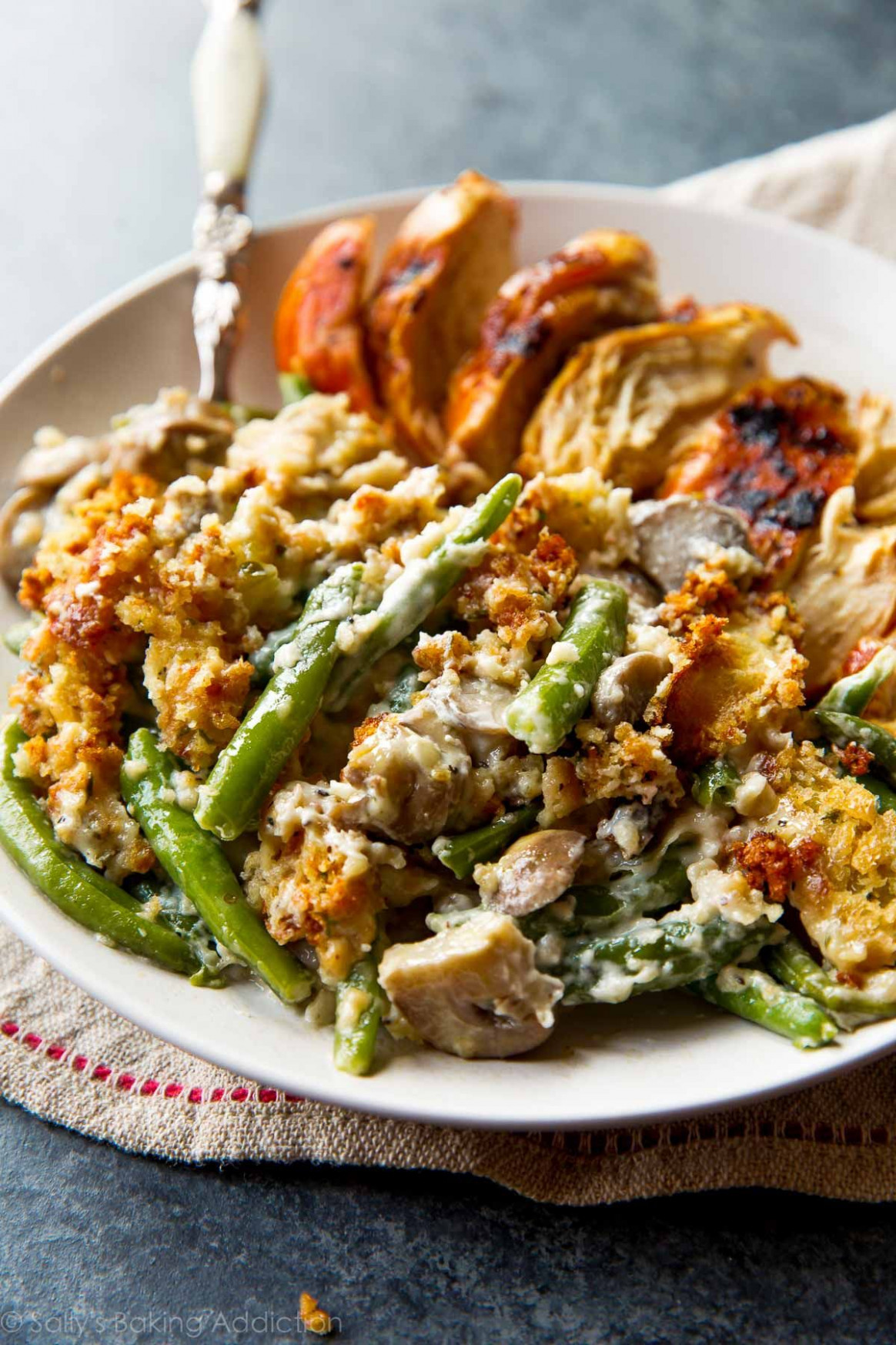 Creamy Green Bean Casserole from Scratch | Recipe