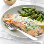 Creamy Herb Grilled Salmon Recipe | Taste Of Home