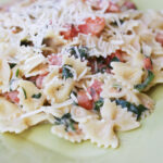 Creamy Pasta With Greens And Tomatoes | Tasty Kitchen: A …