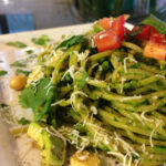 Creamy Vegan Avocado Pasta With Spinach & Garbanzo Beans …
