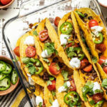 Crispy Baked Beef And Black Bean Tacos – Budget Bytes