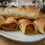Crispy Chicken Tortilla Roll Ups