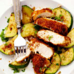 Crispy Parmesan Garlic Chicken With Zucchini | The Recipe …