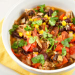 Crock Pot Chicken Taco Chili Recipe – 0 Points – LaaLoosh