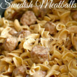 Crock Pot Swedish Meatballs – The Country Cook