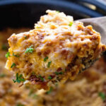 Crockpot Breakfast Casserole With Turkey – Julie's Eats …