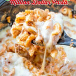 Crockpot Million Dollar Pasta | The Country Cook | Slow Cooker