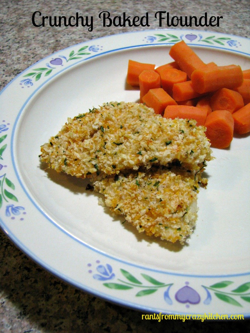 Crunchy Baked Flounder - Rants From My Crazy Kitchen