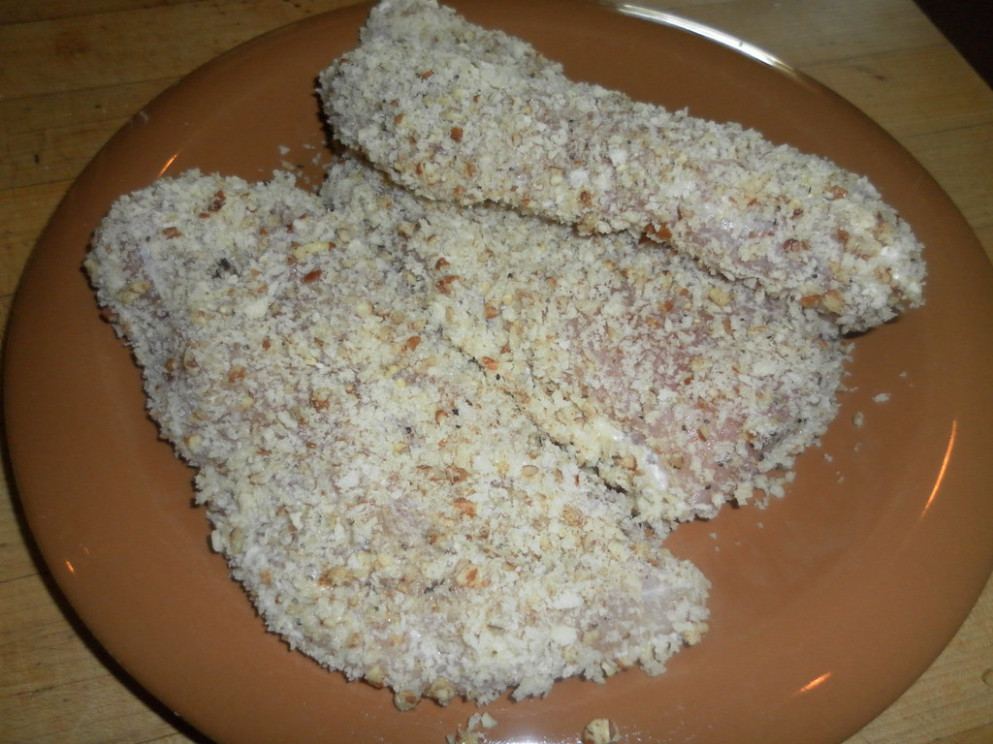 Crusted Chicken before Cooking