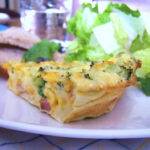 Crustless Quiche Used Part Bacon Part Ham. Added Red …
