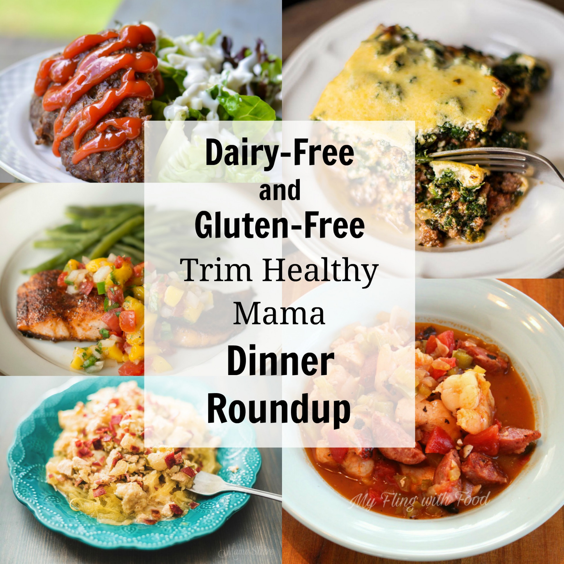 Dairy-Free and Gluten-Free Trim Healthy Mama Dinners ...