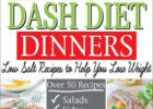 DASH DIET DINNERS: Low Salt Recipes to Help You Lose ...