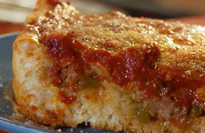Deep-Dish Pizza Recipe by Casserole Queens