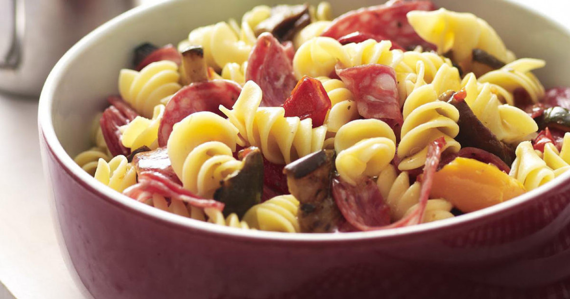 Deli pasta salad | RecipesPlus