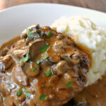 Deliciously Easy Salisbury Steak Bake – Easy Peasy Pleasy