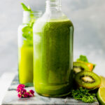 Detoxifying Super Green Smoothie Recipe Vegan