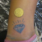 Diamond Tattoo Design Trend For Indian Girls – SheClick