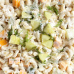Dill Pickle Pasta Salad Recipe – Family Fresh Meals