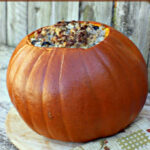 Dinner In A Pumpkin Recipe – Just 2 Sisters