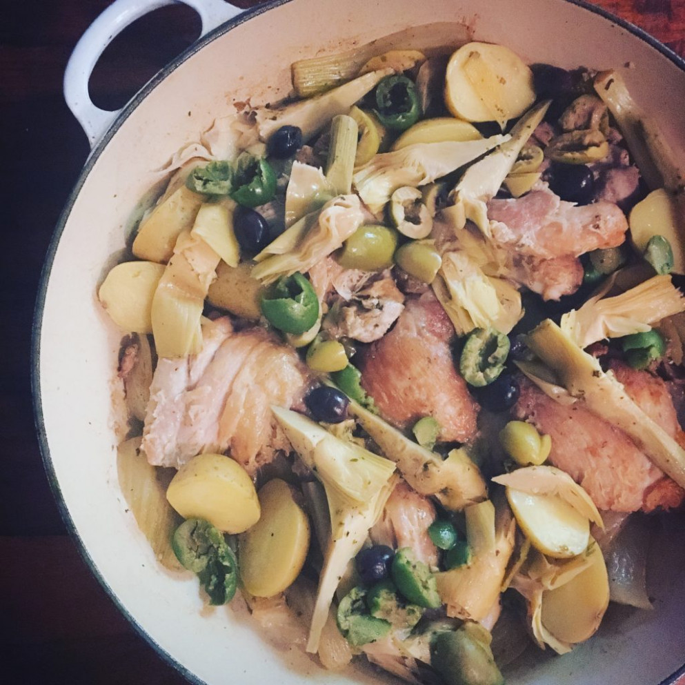 Dinner Party Made Easy: One-Pot Chicken Dinner with ...