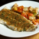 Dinner Tonight: Baked Fish With Savory Bread Crumbs Recipe …