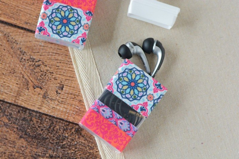 DIY Earbud Holder Made from Tic Tac Containers | My Crazy ...