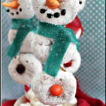 Donut Snowman On A Stick Recipe – ISaveA2Z