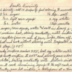 Double Divinity Recipe – Handwritten « RecipeCurio
