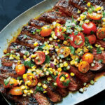 Dry Rubbed Flank Steak With Grilled Corn Salsa Recipe …