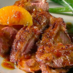 Duck Breast A L'Orange Recipe | Martha Stewart
