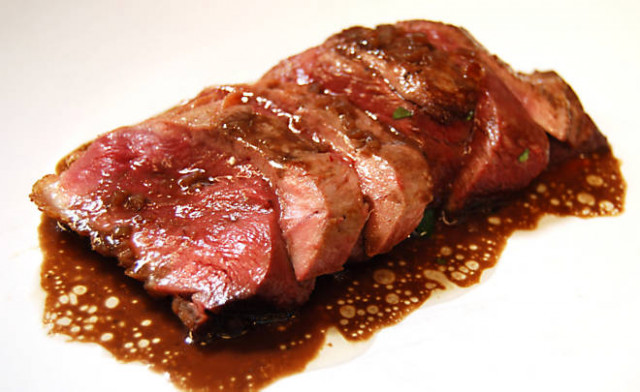 Duck Breast with Red Wine Sauce Recipe | D'Artagnan