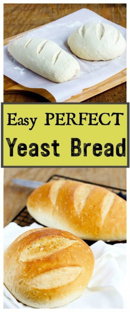 Easiest Perfect Yeast Bread - Simple no fail yeast bread ...