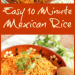 Easy 10 Minute Mexican Rice | This Mama Cooks! On a Diet™