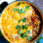 Easy 10 Minute One Pot Taco Casserole – WonkyWonderful