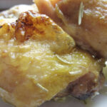 Easy Baked Chicken Thighs 01
