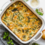 Easy Baked Frittata Recipe With Spinach (Gluten Free)