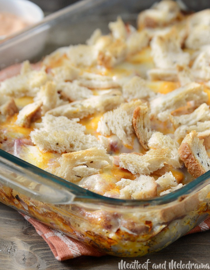 Easy Baked Reuben Casserole - Meatloaf and Melodrama